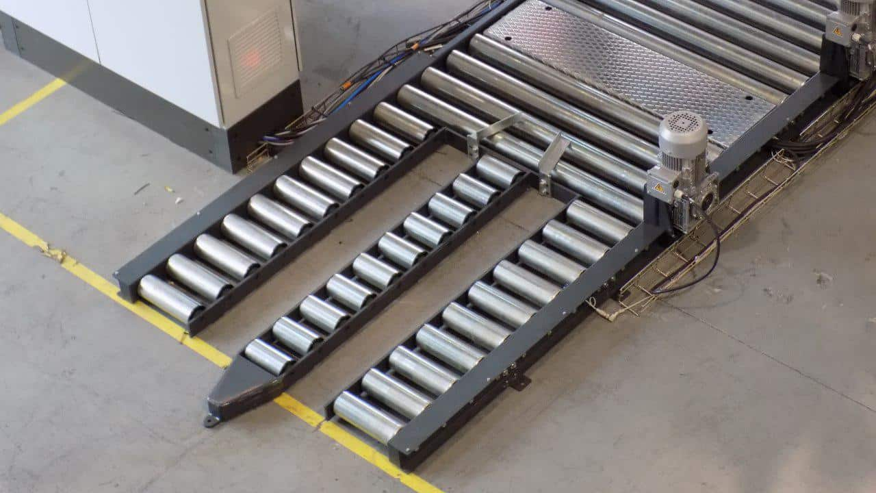 Pallet Conveyors Pack And Pallet