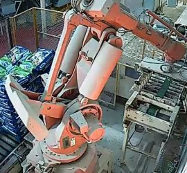 Palletising Robot Installation